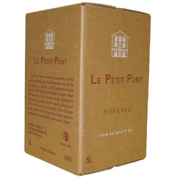 Cubi Petit Pont Rouge 5 litres
